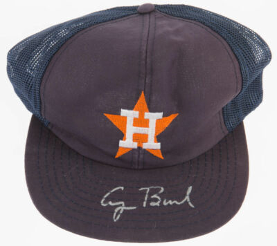 George H.W. Bush Signed Houston Astros Cap!!