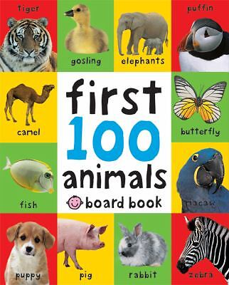 First 100 Animals, Priddy, Roger, Very Good Book