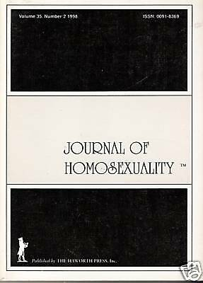 JOURNAL OF HOMOSEXUALITY - Vol. 35, # 2, 1998