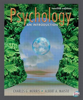 Psychology: An Introduction (12th Edition), Maisto, Albert A., Morris, Charles G