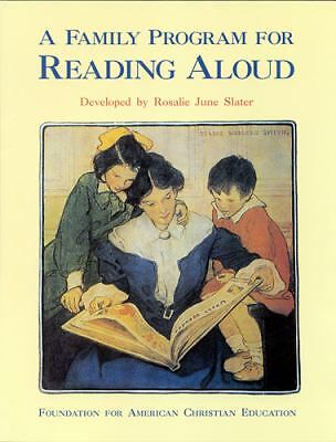 A Family Program for Reading Aloud: P.1 and 2  Rosalie J. Slater