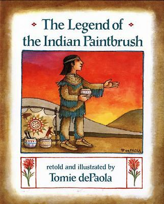 The Legend of the Indian Paintbrush, Tomie dePaola, Good Condition, Book
