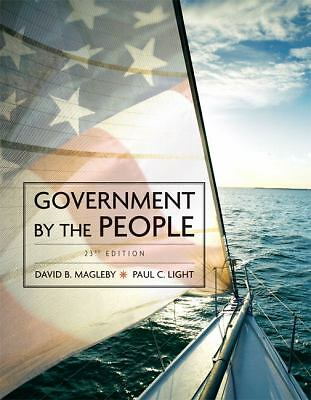 Government by the People, 2009 Edition (23rd Edition) by Magleby, David B., Lig