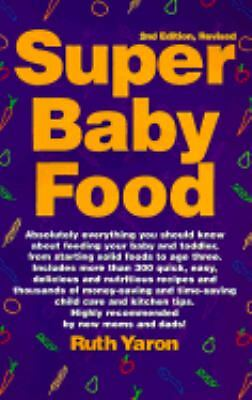 Super Baby Food  Ruth Yaron