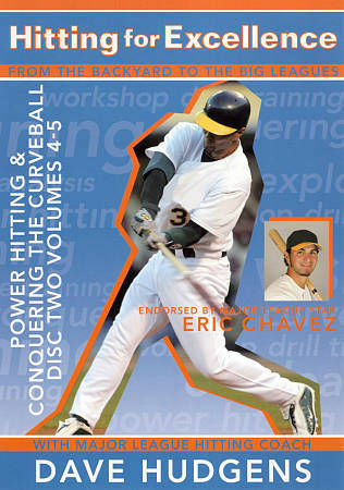 Hitting For Excellence Disk 2 - Power Hitting & Conquering the Curveball  Hudge