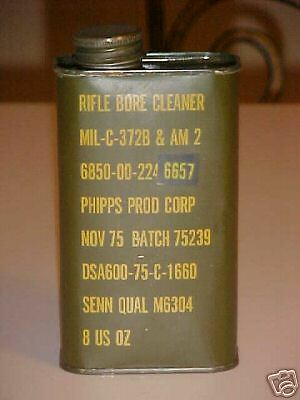 Military Surplus, Rifle Bore Cleaner, 12 cans