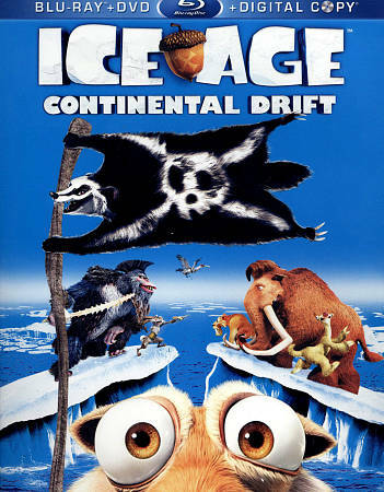 Ice Age: Continental Drift (Blu-ray / DVD + Digital Copy) by Ray Romano, Denis