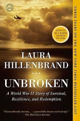 Unbroken: A World War II Story of Survival, Resilience, and Redemption  Hillenb