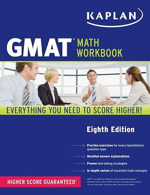 Kaplan GMAT Math Workbook (Kaplan Test Prep)  Kaplan