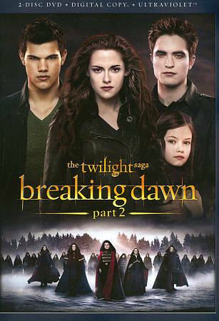The Twilight Saga: Breaking Dawn - Part 2 [DVD + Digital Copy + UltraViolet] by