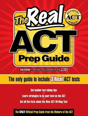 The Real ACT Prep Guide: The Only Guide to Include 3Real ACT Tests, ACTOrg