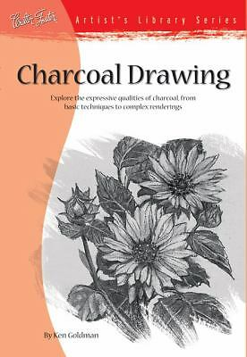 Charcoal Drawing (Artist's Library Series #25) by Goldman, Ken