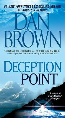 Deception Point, Dan Brown, Good Condition, Book