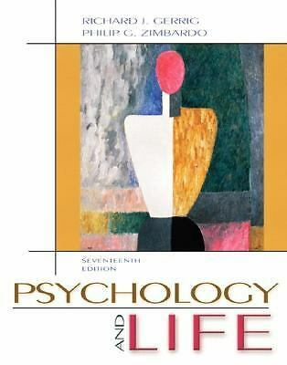 Psychology and Life by Gerrig, Richard, Zimbardo, Philip