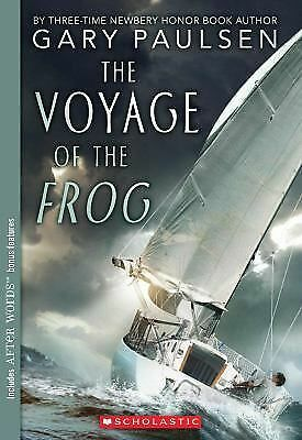The Voyage Of The Frog (Apple signature), Paulsen, Gary, Good Condition, Book