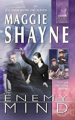Enemy Mind (Silhouette, Family Secrets), Shayne, Maggie, Good Condition, Book