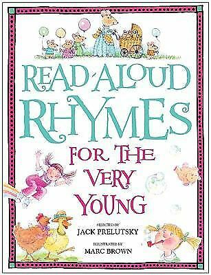 Read-Aloud Rhymes for the Very Young,
