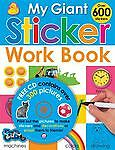 My Giant Sticker Work Book (with CD)  Priddy, Roger