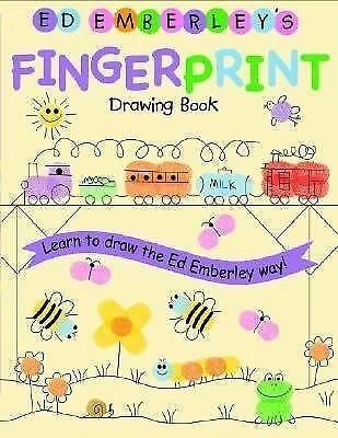 Ed Emberley's Fingerprint Drawing Book by Emberley, Ed