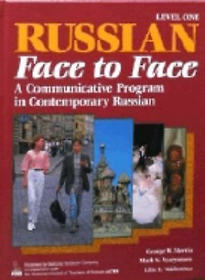 Russian Face to Face: A Communicative Program in Contemporary Russian  (Bk. 1) (