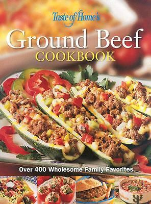 Taste of Home Ground Beef Cookbook by Taste of Home