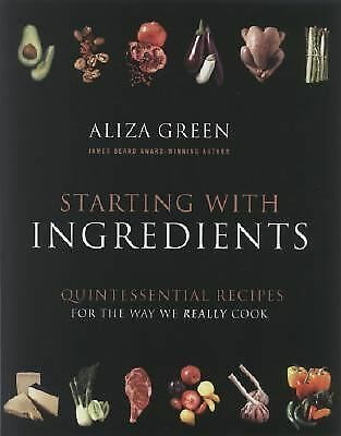 Starting with Ingredients Green, Aliza