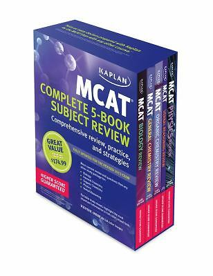 Kaplan MCAT Review Complete 5-Book Subject Review (Kaplan Test Prep) by Kaplan