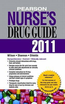 Pearson Nurse's Drug Guide 2011--Retail Edition (Pearson Nurse's Drug Guide (Re