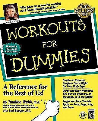 Workouts For Dummies by Webb, Tamilee, Seeger, Lori