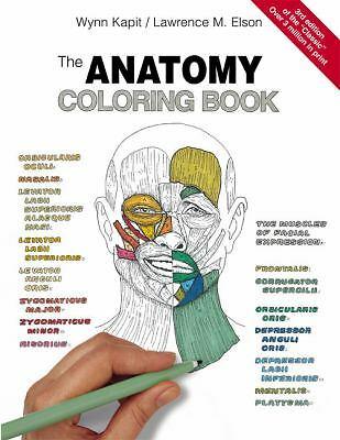 The Anatomy Coloring Book by Kapit, Wynn, Elson, Lawrence M.