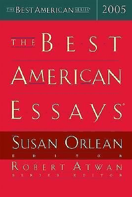 The Best American Essays 2005 (The Best American Series) by