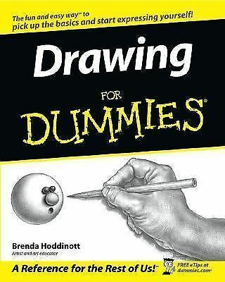 Drawing For Dummies by Hoddinott, Brenda
