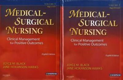 Medical Surgical Nursing Clinical Management for Positive Outcomes 8th edition,