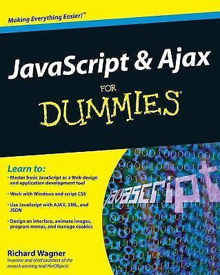 JavaScript and AJAX For Dummies by Harris, Andy