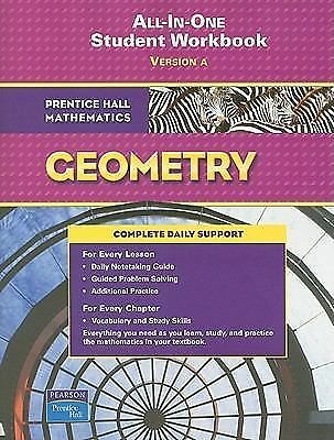 All-in-one Student Workbook : Version A (Prentice Hall Mathematics, Geometry), P