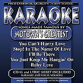 Karaoke: Songs Made Famous Motown's Greatest by