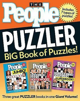 People Puzzler: BIG Book of Puzzles! by Editors of People Magazine