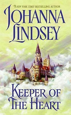 Keeper of the Heart, Johanna Lindsey, Good Condition, Book