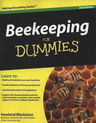 Beekeeping For Dummies Blackiston, Howland