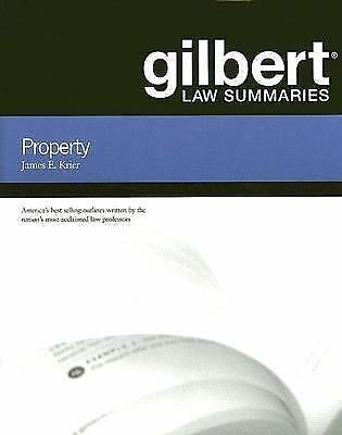 Gilbert Law Summaries on Property, 17th James Krier
