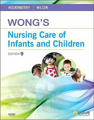 Wong's Nursing Care of Infants and Children, 9th Edition, , Good Condition, Book