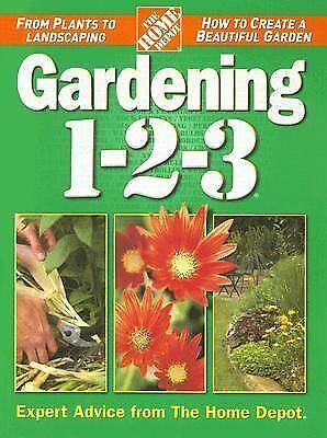 Gardening 1-2-3 (Home Depot 1-2-3) by The Home Depot