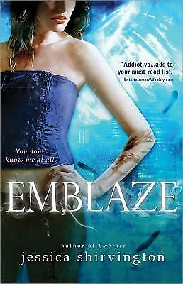 Emblaze (Embrace), Shirvington, Jessica, Good Condition, Book