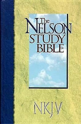 The Nelson Study Bible: New King James Version (Nelson 2885), Thomas Nelson, Goo
