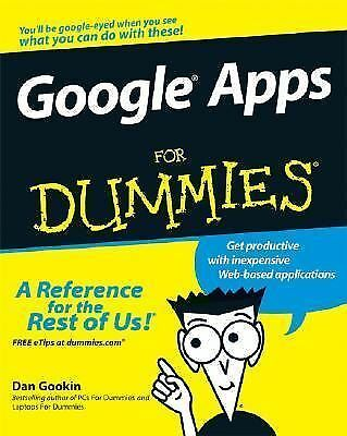 Google Apps For Dummies by Teeter, Ryan, Barksdale, Karl