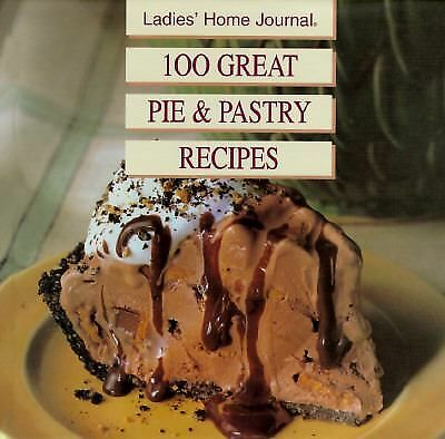 100 Great Pie & Pastry Recipes, McConnell, Shelli, Good Condition, Book