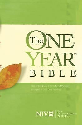 The One Year Bible NIV by