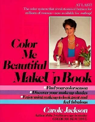 Color Me Beautiful Make-Up Book, Jackson, Carole, Good Condition, Book