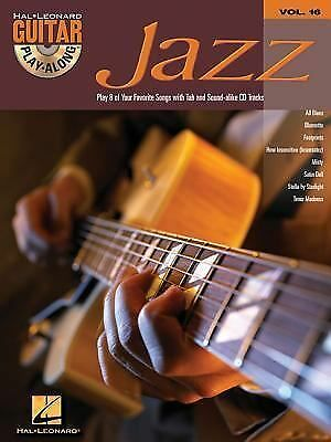 Jazz: Guitar Play-Along Volume 16 by Hal Leonard Corp.