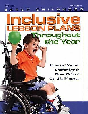 Inclusive Lesson Plans Throughout the Year (Early Childhood Education), Nabors,